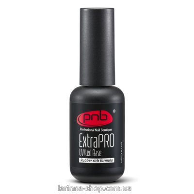 UV/LED ExtraPRO Base Rubber rich formula PNB, 8 ml