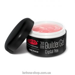 UV/LED One Phase Builder Gel Crystal Pink PNB, 50 ml