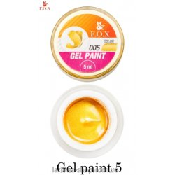 F.O.X Gel Paint 5, 5-ml