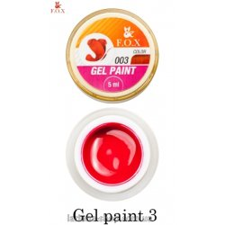 F.O.X Gel Paint 3, 5-ml