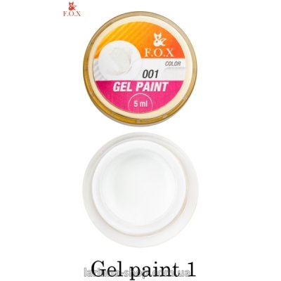 F.O.X Gel Paint 1, 5-ml