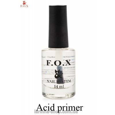 Праймер кислотный F.O.X Acid primer, 14 мл