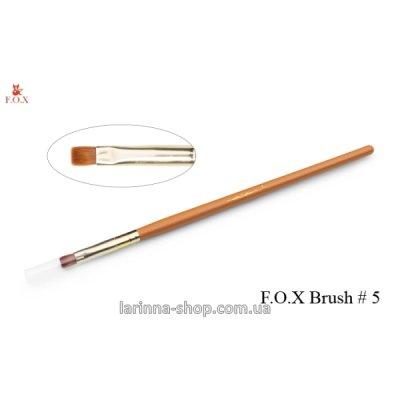 Кисть для дизайна F.O.X № 5