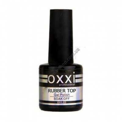 Rubber Top Oxxi Professional - каучуковый топ/финиш окси, 15 мл